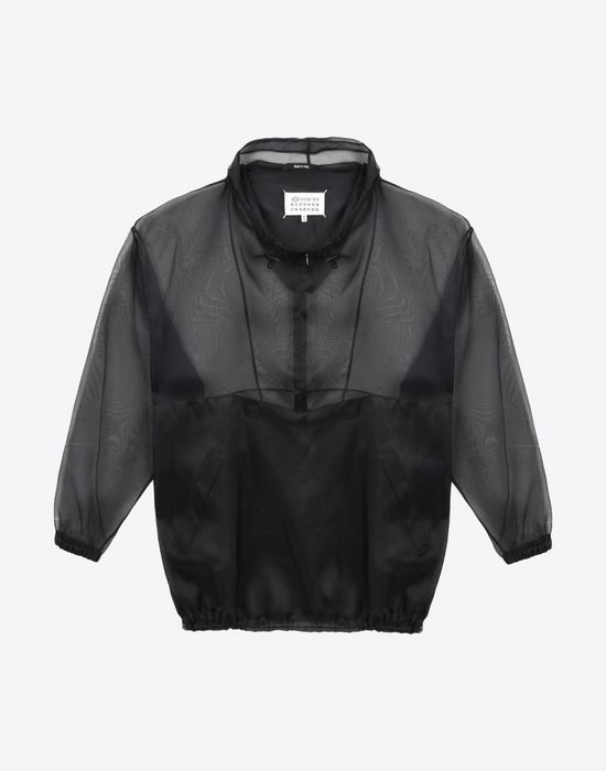MAISON MARGIELA 1 Silk sports jacket Jacket Woman f