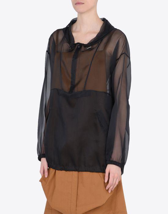 MAISON MARGIELA 1 Silk sports jacket Jacket Woman r