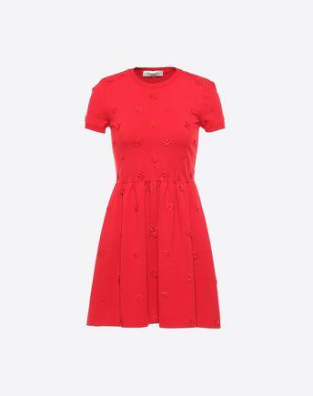 VALENTINO Embroidered Viscose Dress 34705927NJ