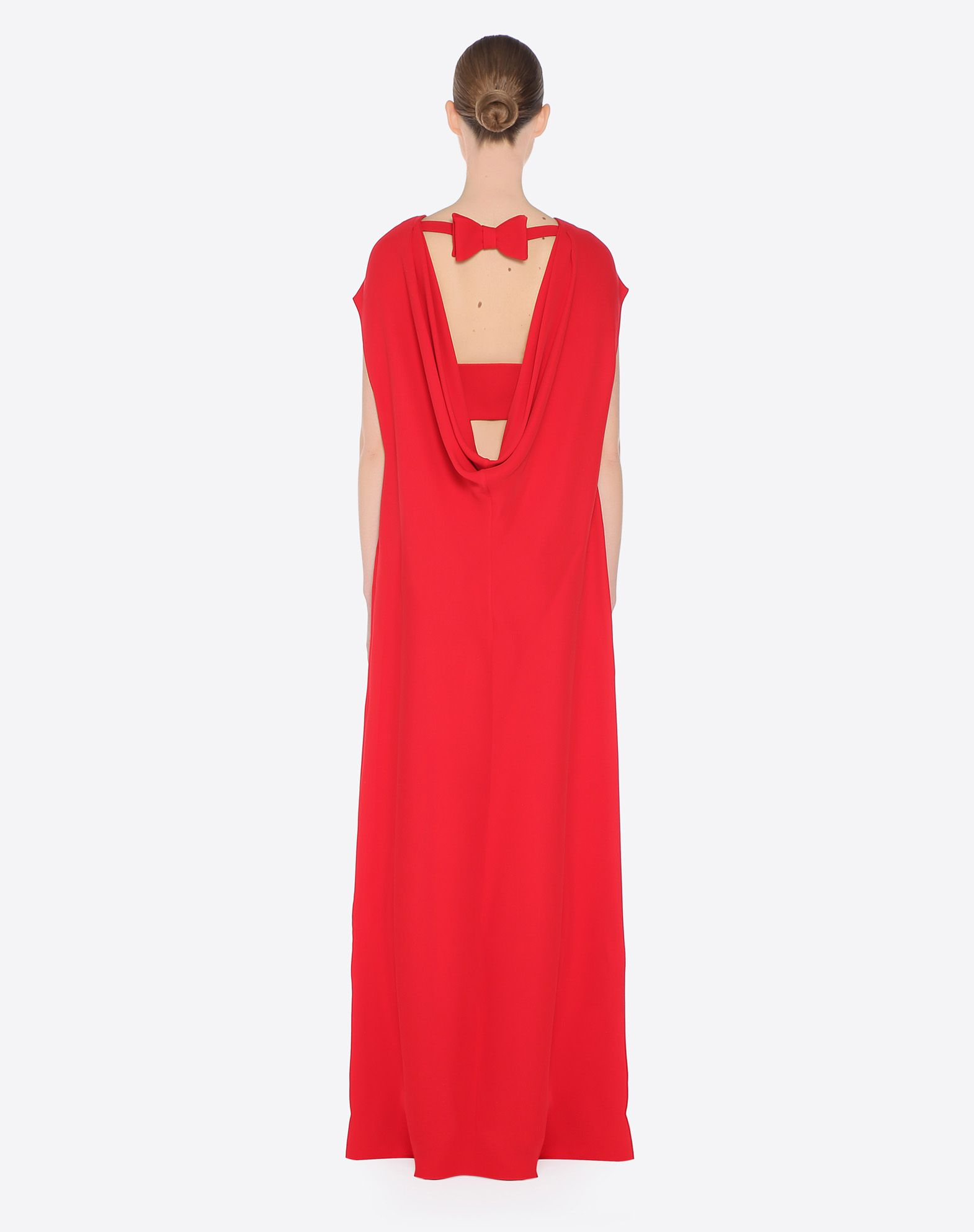 Women\'s Long Cady Couture Dress Valentino | Valentino Online Boutique UK