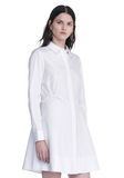 ALEXANDER WANG PEPLUM SHIRT DRESS  3/4 length dress Adult 8_n_a