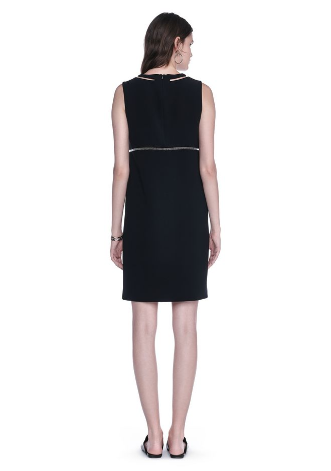ALEXANDER WANG FISH LINE STRAIGHT CUT DRESS  Short Dress Adult 12_n_r
