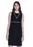 ALEXANDER WANG FISH LINE STRAIGHT CUT DRESS  Short Dress Adult 8_n_e