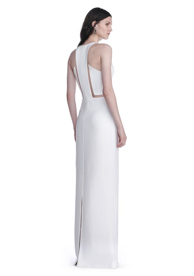 ALEXANDER WANG V-NECK FISHLINE GOWN Long dress Adult 12_n_d