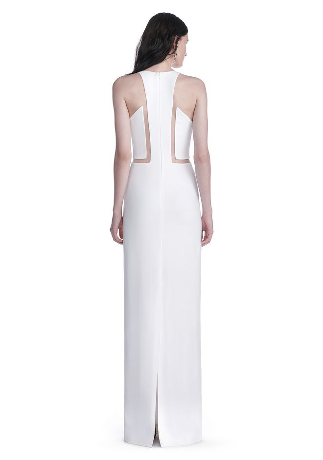 ALEXANDER WANG V-NECK FISHLINE GOWN Long dress Adult 12_n_r