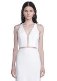 ALEXANDER WANG V-NECK FISHLINE GOWN Long dress Adult 8_n_a