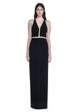 ALEXANDER WANG V-NECK FISHLINE GOWN 长款连衣裙 Adult 8_n_e