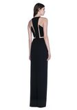ALEXANDER WANG V-NECK FISHLINE GOWN 长款连衣裙 Adult 8_n_f