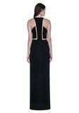 ALEXANDER WANG V-NECK FISHLINE GOWN 长款连衣裙 Adult 8_n_r