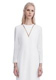 ALEXANDER WANG EXCLUSIVE LONG SLEEVE FISH LINE GOWN  Long dress Adult 8_n_a