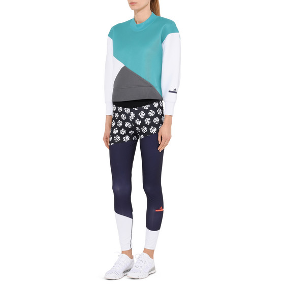 Neoprene Color Block Sweatshirt