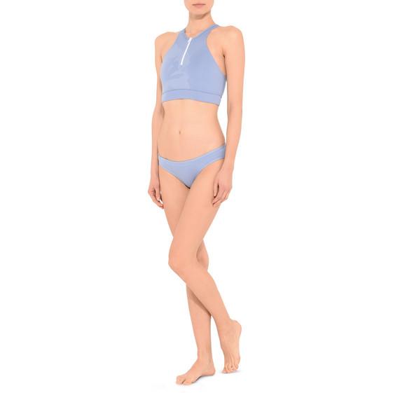 Haut de bikini bleu