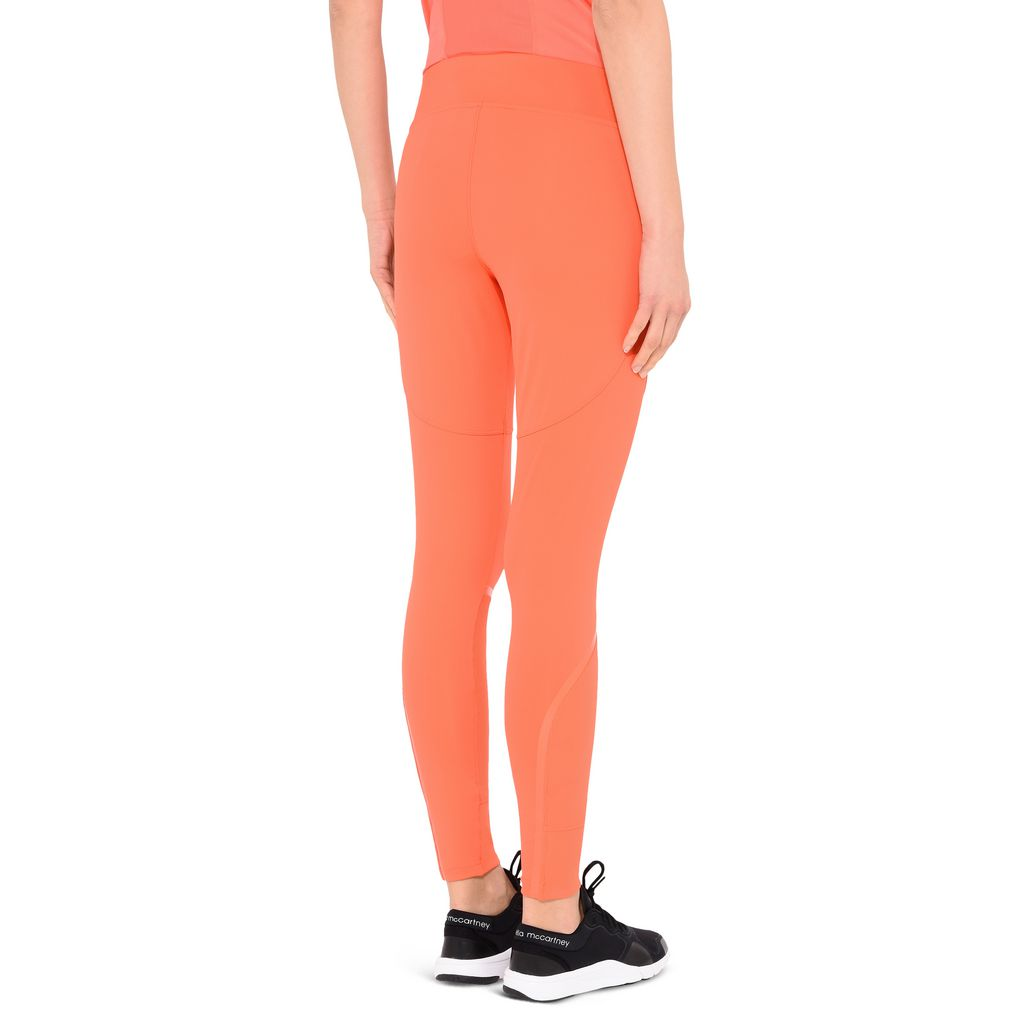 Orange Training Leggings - ADIDAS by STELLA McCARTNEY