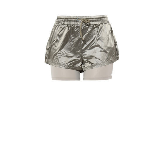 Ash Green Run 2in1 Shorts