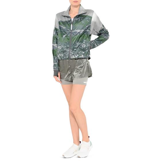 Ash Green Run 2in1 Shorts