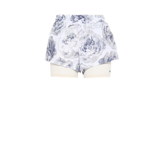 White Run 2in1 Shorts