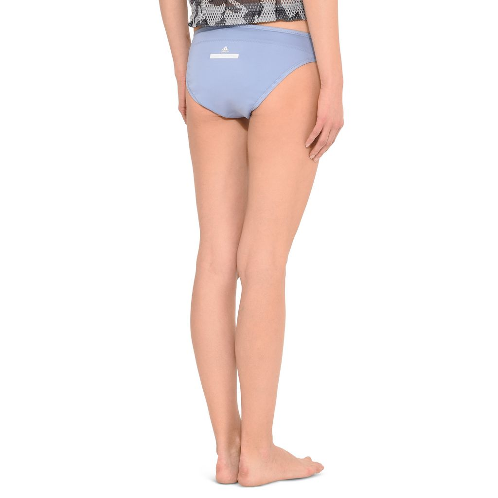 Blue Reversible Bikini Bottoms - ADIDAS by STELLA McCARTNEY
