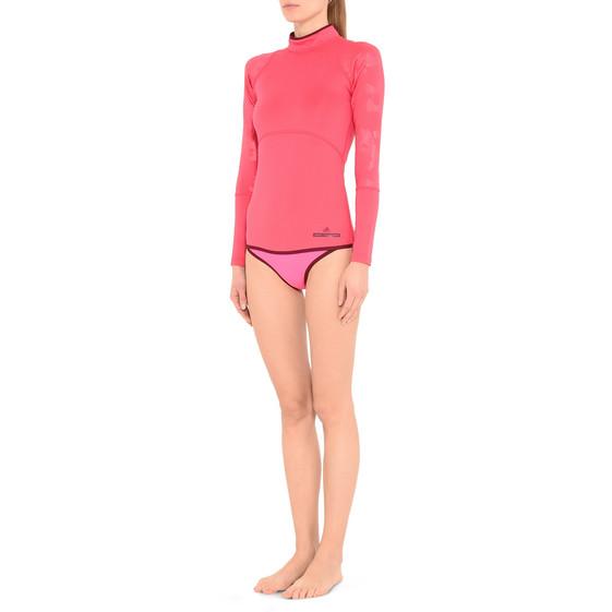 Bas de bikini réversible rose vif