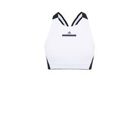 ADIDAS by STELLA McCARTNEY Running Topwear D Black and White Training Tank f