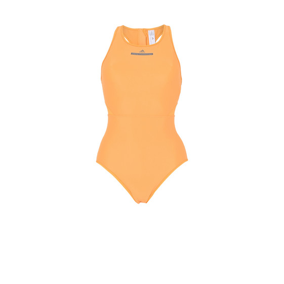 Yellow Zip Swimsuit