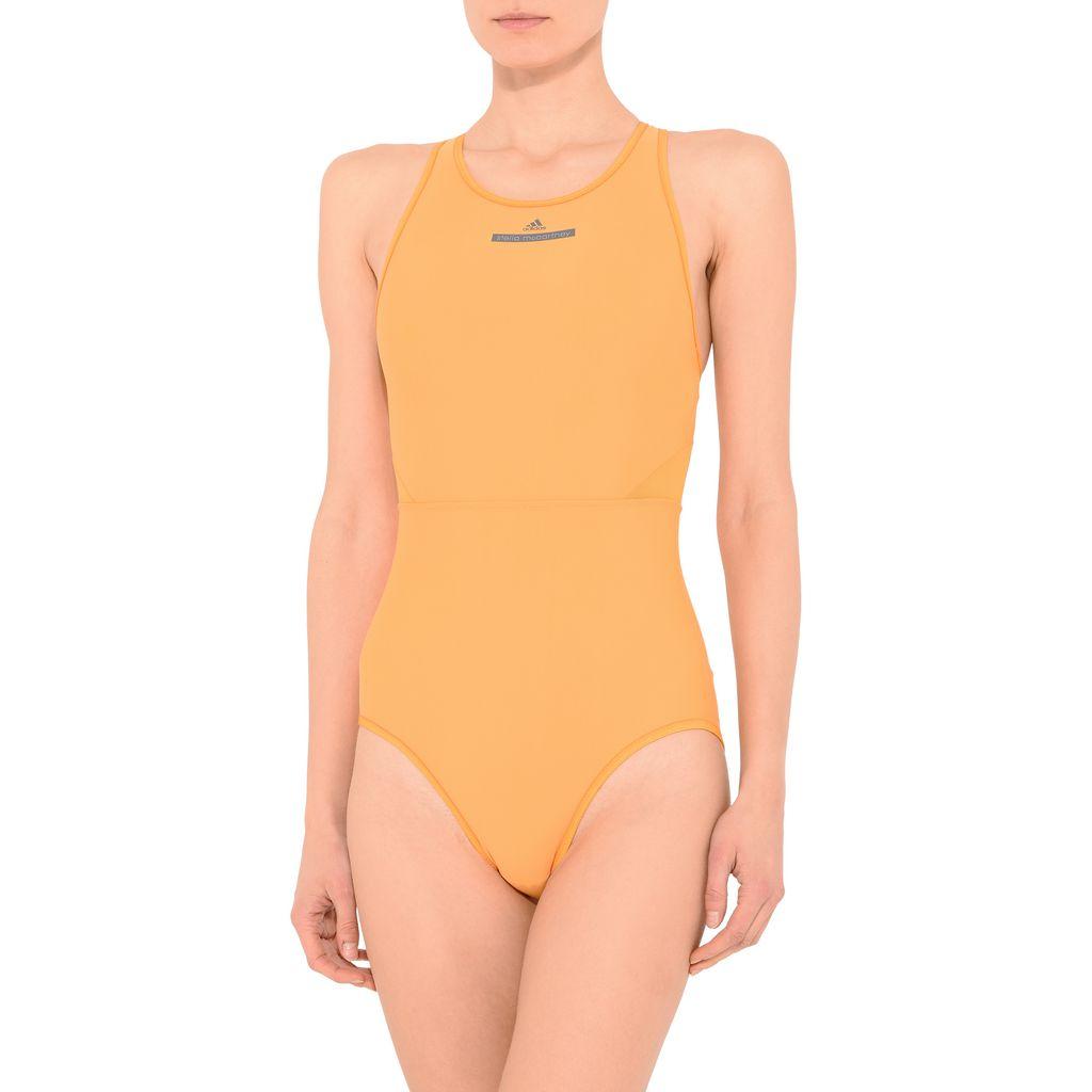 Yellow Zip Swimsuit - ADIDAS by STELLA McCARTNEY