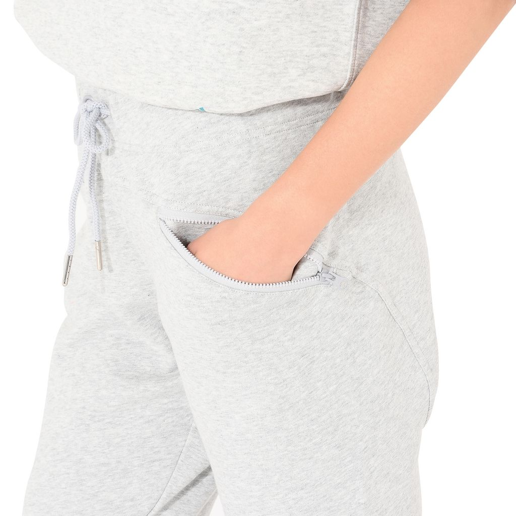Grey Essentials Sweatpants - ADIDAS by STELLA McCARTNEY