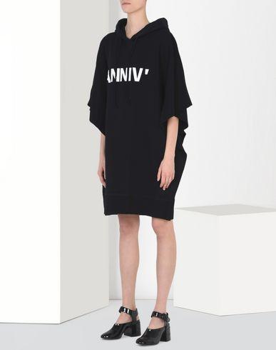 MM6 by MAISON MARGIELA Short dress D 20th anniversary hoodie-dress f
