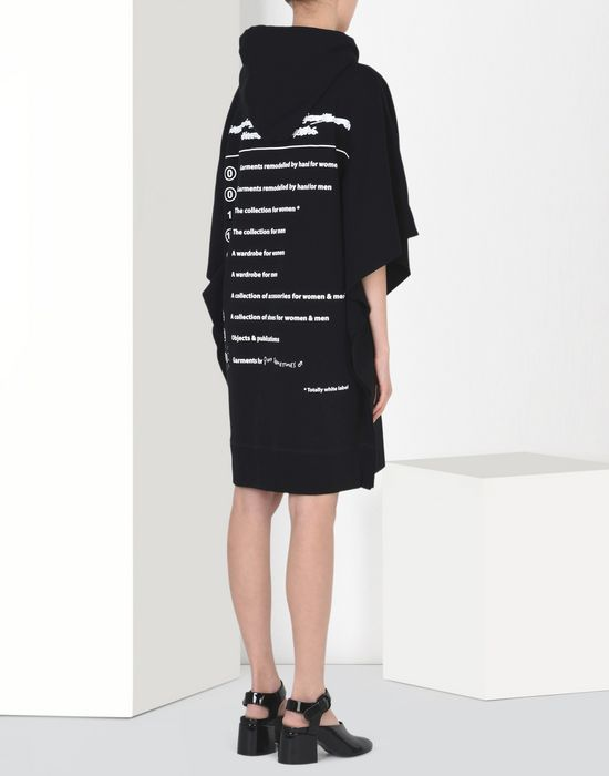 MM6 by MAISON MARGIELA 20th anniversary hoodie-dress Short dress D d