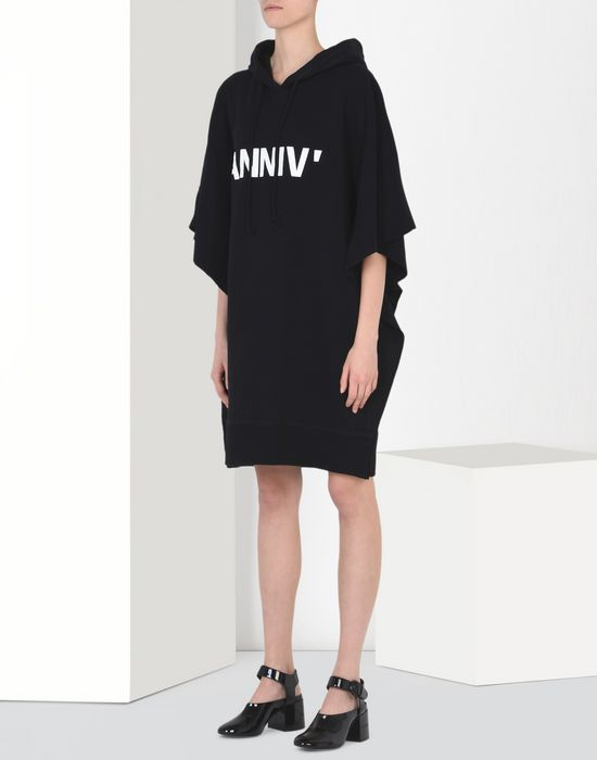 MM6 by MAISON MARGIELA 20th anniversary hoodie-dress Short dress D f
