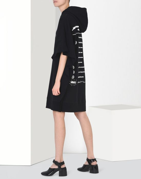MM6 by MAISON MARGIELA 20th anniversary hoodie-dress Short dress D r
