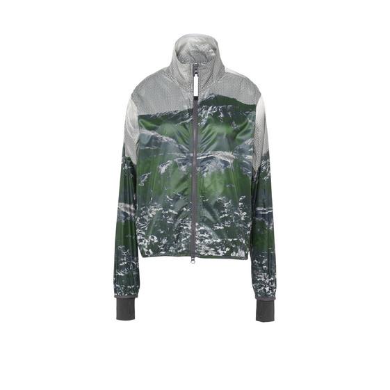 Run Mountain Print Jacket