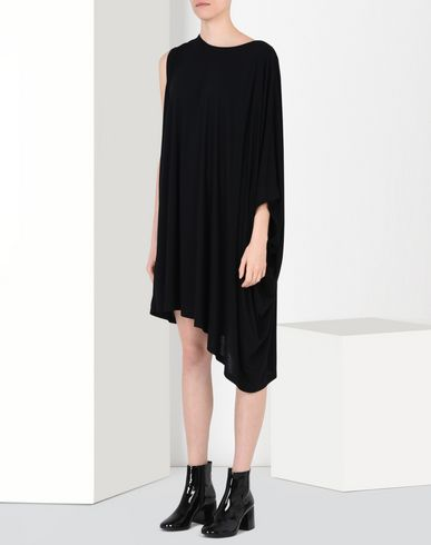 MM6 by MAISON MARGIELA 3/4 length dress D Fluid jersey dress f