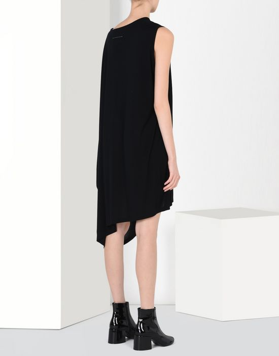 MM6 by MAISON MARGIELA Fluid jersey dress 3/4 length dress D d