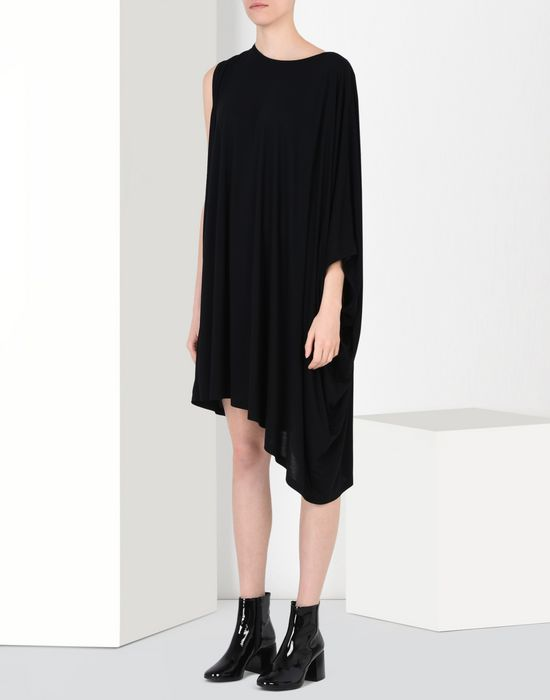 MM6 by MAISON MARGIELA Fluid jersey dress 3/4 length dress D f