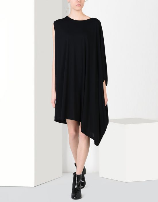MM6 by MAISON MARGIELA Fluid jersey dress 3/4 length dress D r