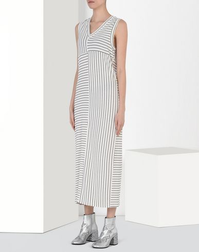MM6 by MAISON MARGIELA Long dress D Long striped dress f