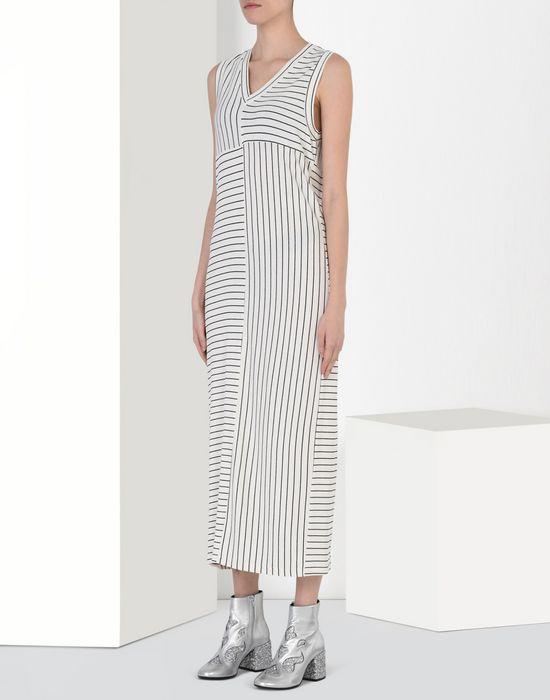 MM6 MAISON MARGIELA Long striped dress Long dress D f