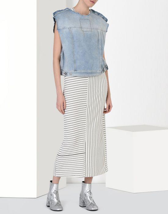 MM6 MAISON MARGIELA Long striped dress Long dress D r