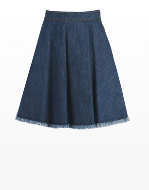 TRUSSARDI JEANS - Denim skirt
