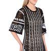 STELLA McCARTNEY Camellia Dress Short Sleeved Dress D a