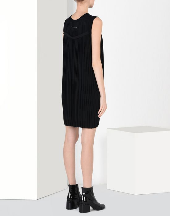 MM6 by MAISON MARGIELA Back pleats dress Minidress D d
