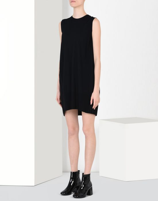 MM6 by MAISON MARGIELA Back pleats dress Minidress D f