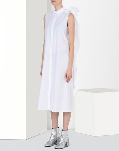 MM6 by MAISON MARGIELA Robe longue D Robe-chemisier en coton f