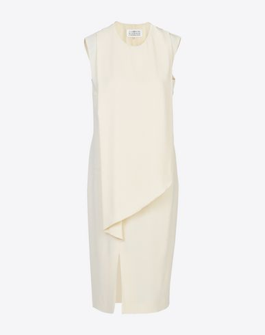 MAISON MARGIELA 4 3/4 length dress D Crepe dress f