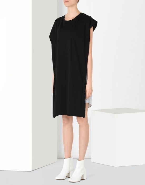 MM6 by MAISON MARGIELA Double-effect dress 3/4 length dress D f