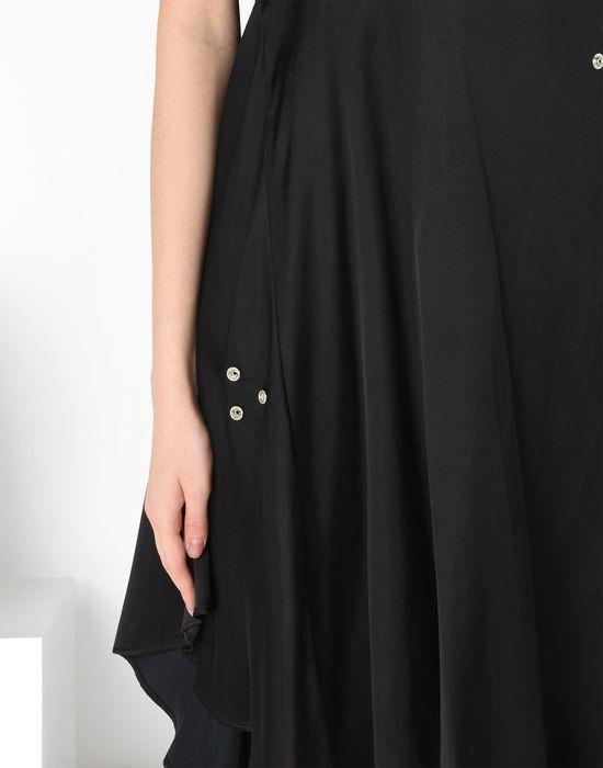 MM6 by MAISON MARGIELA Fluid dress with draped effect 3/4 length dress D a