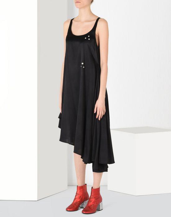 MM6 by MAISON MARGIELA Fluid dress with draped effect 3/4 length dress D f