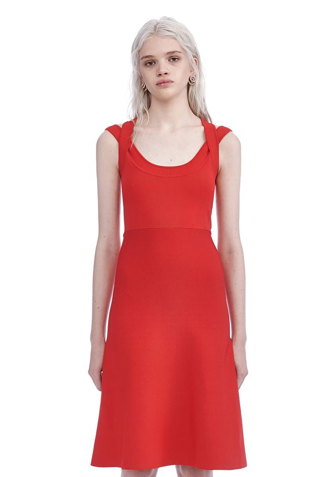 T by ALEXANDER WANG Long dresses DOUBLE STRAP DRESS