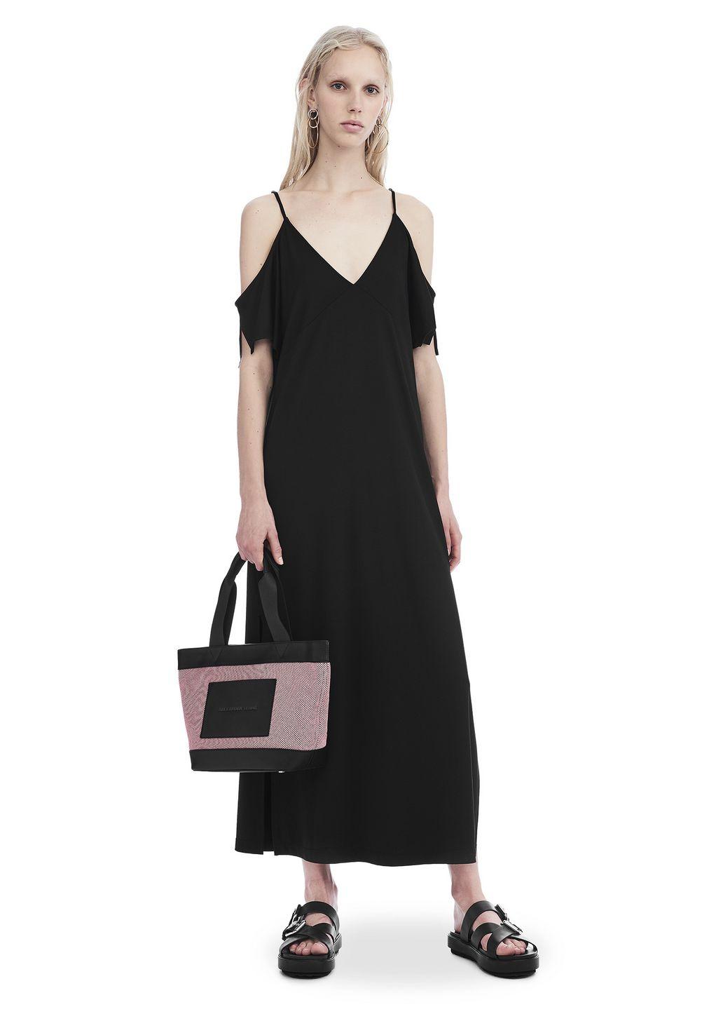 Dress Up 247 Login - Lux ponte cold shoulder midi dress long dress alexander wang official site