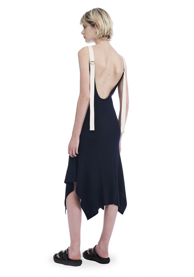 T by ALEXANDER WANG 3/4 Length dresses LOW SCOOP BACK TANK DRESS